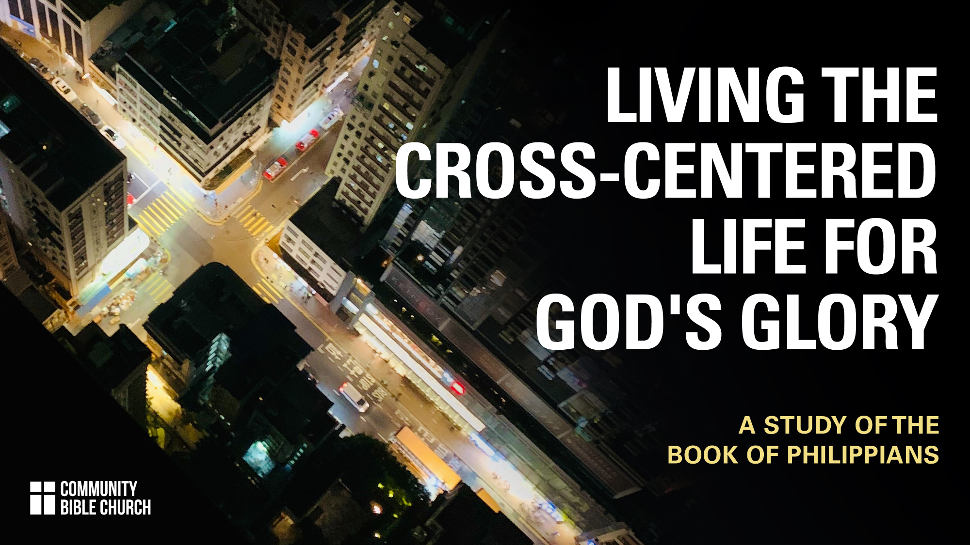 2021: Living the Cross-Centered Life for God\'s Glory